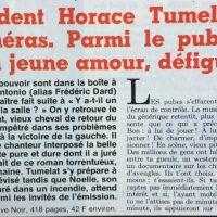 France soir magazine texteTumelat 1