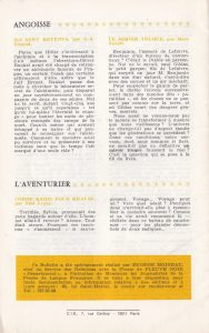 Informations Fleuve Noir n°101 -102 Juillet-août 1973 back