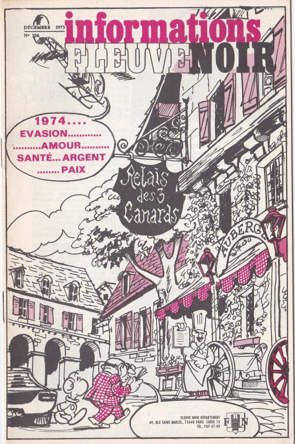 Informations Fleuve Noir n°106 décembre 1973