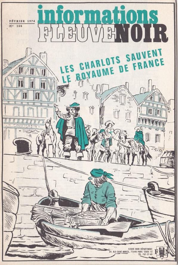 Informations Fleuve Noir n°108 février 1974