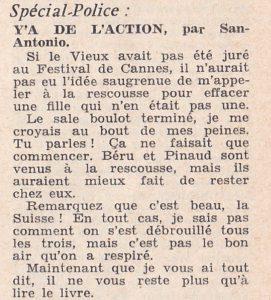 Informations Fleuve Noir n°28 avril 1967 SA2