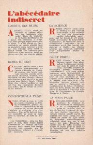 Informations Fleuve Noir n°28 avril 1967 back