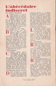 Informations Fleuve Noir n°30 juin 1967 back