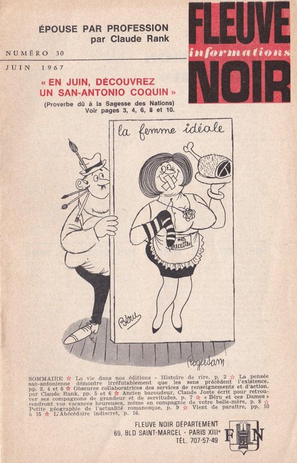 Informations Fleuve Noir n°30 juin 1967