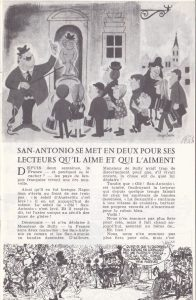 Informations Fleuve Noir n°86 avril 1972 SA