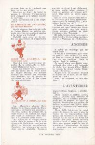 Informations Fleuve Noir n°86 avril 1972 back