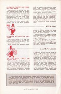 Informations Fleuve Noir n°88 juin 1972 back