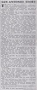 Informations Fleuve Noir n°91 septembre 1972 SA