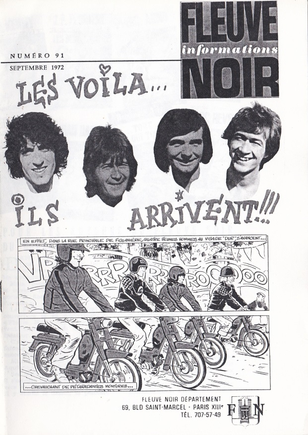 Informations Fleuve Noir n°91 septembre 1972