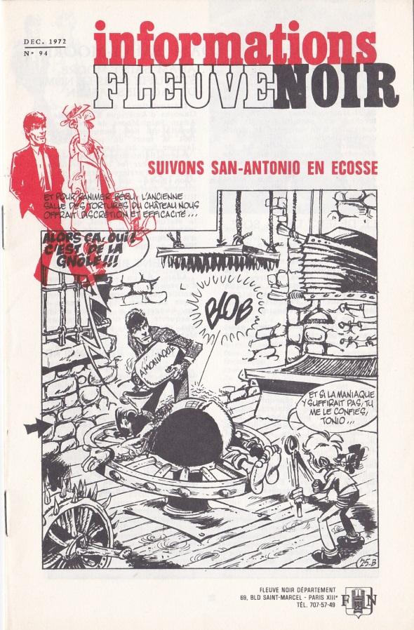 Informations Fleuve Noir n°94 décembre 1972
