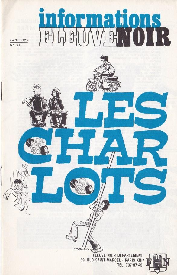 Informations Fleuve Noir n°95 janvier 1973