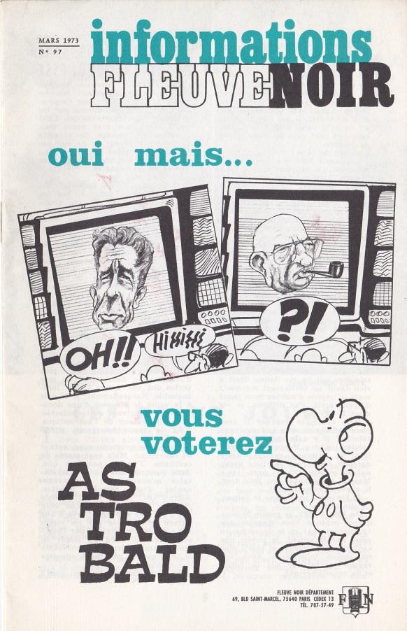 Informations Fleuve Noir n°97 mars 1973