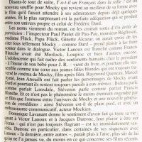 Jean-Pierre Mocky Y-a-t'il un Français dans la salle p 163