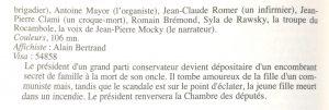 Jean-Pierre Mocky Y-a-t'il un Français dans la salle p 198