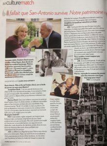 Paris Match n°3183 article p1