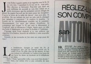 Télé 7 jours 11 septembre 1982 Réglez lui son compte 1