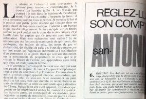 Télé 7 jours 14 août 1982 Réglez lui son compte 1