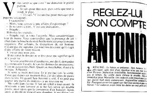 Télé 7 jours 17 juillet 1982 Réglez lui son compte 1