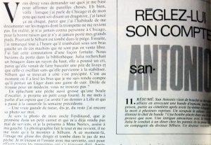Télé 7 jours 18 septembre 1982 Réglez lui son compte 1