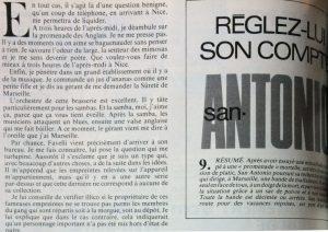 Télé 7 jours 4 septembre 1982 Réglez lui son compte 1