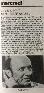 Télé -Journal n°374 programme mercredi