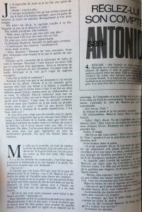 Tele 7 jours 31 juillet 1982 texte début