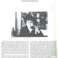 Cahiers du cinéma n°336 JPM un auteur artisan 1