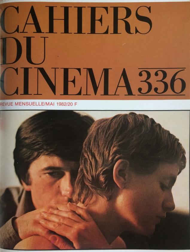 Cahiers du cinéma n°336