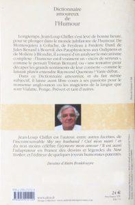 Dictionnaire amoureux de l'Humour back