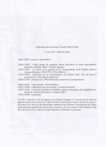 Journée d'études Frédéric Dard Dijon 1er juin 2017 back