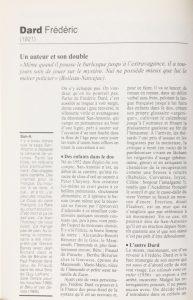 Les maîtres du roman policier Frédéric Dard 1