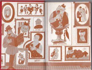 Oeuvres Complètes I dessins page de garde