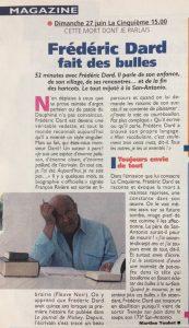 Télé magazine n°2277 Cette mort dont je parlais