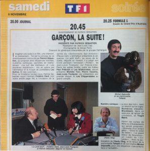 Télé star n°892 Garçon la suite
