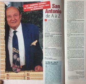 Télé star n°892 San-Antonio de A à Z article entier