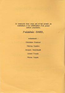 Catalogue San-Antonio Robert Foglia page remerciements