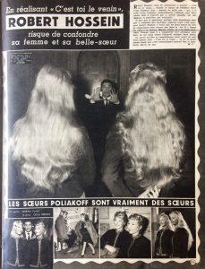 Ciné Revue n°19 9 mai 1958 C'est toi le venin
