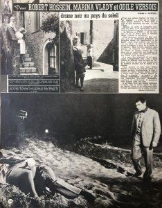 Ciné Revue n°23 6 juin 1958 article c'est toi le venin