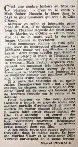 Ciné Revue n°23 6 juin 1958 texte c'est toi le venin