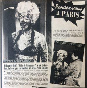 Ciné Revue n°25 20 juin 1958 la fille de Hambourg