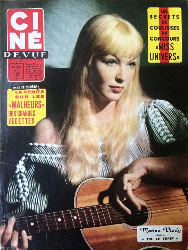 Ciné Revue n°32 8 août 1958