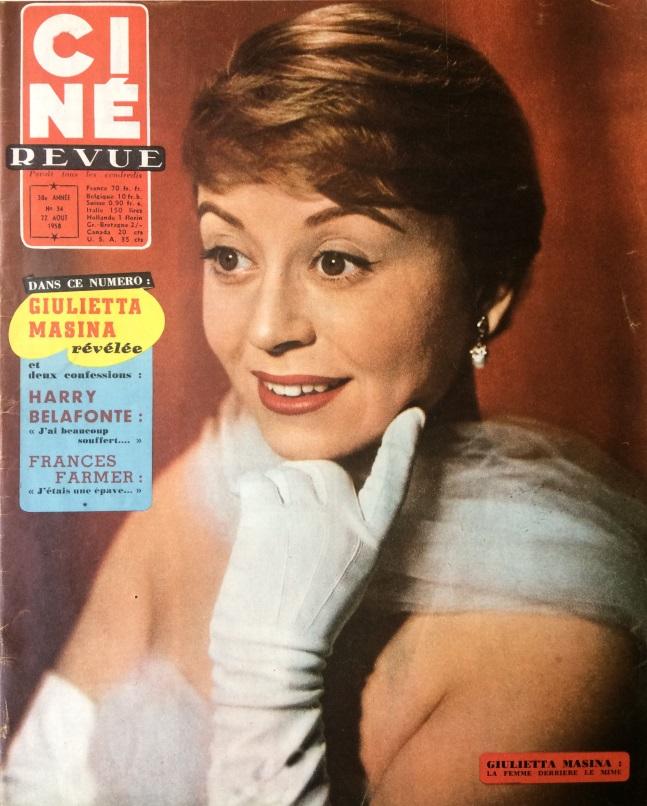 Ciné Revue n°34 22 août 1958