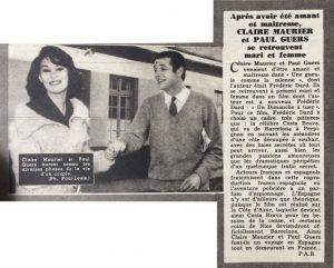 Ciné Revue n°7 12 février 1960 Une gueule comme la mienne