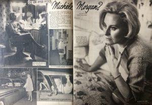 Ciné Revue n°7 12 février 1960 article Michèle Morgan