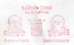 Flamme postale F Dard L Seigner