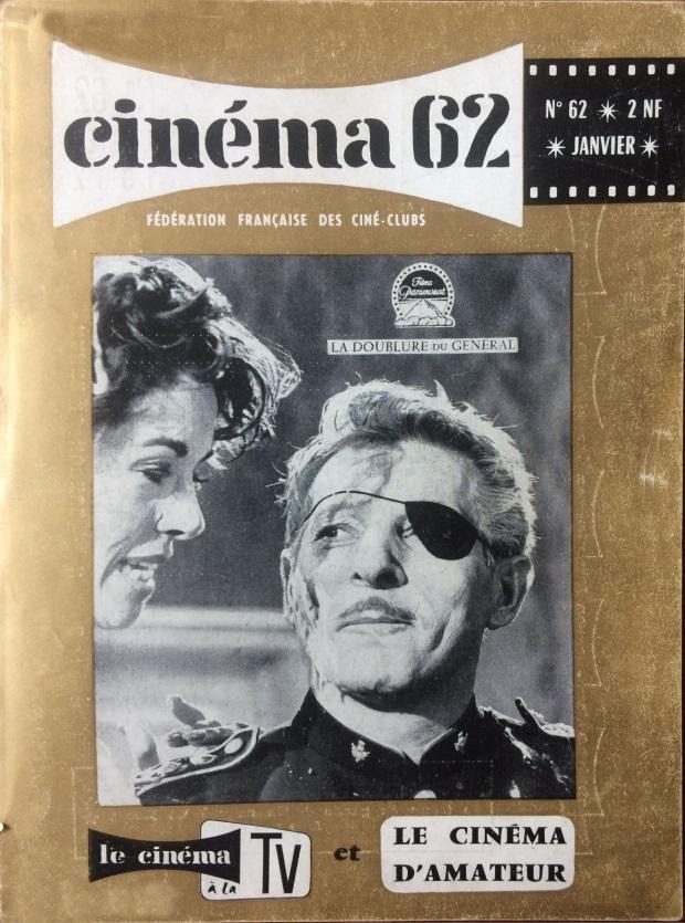 Cinéma 62 n°62