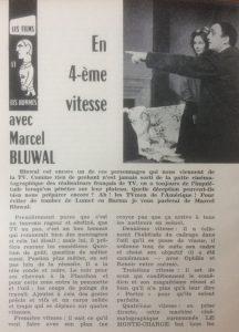 Cinéma 62 n°64 en 4ème vitesse avec Marcel Bluwal début