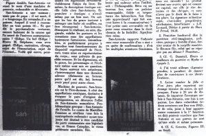La quinzaine littéraire août 1973 article Zrehen fin bas