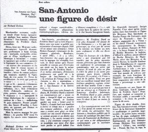La quinzaine littéraire aout 73 Richard Zrehen début