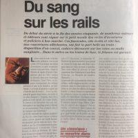 La vie du rail n°2707 Du sang sur les rails p30